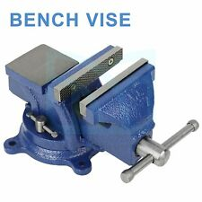 4 In Bench Clamp Lock Vise Swivel Base Milling Machine Fitter Tools