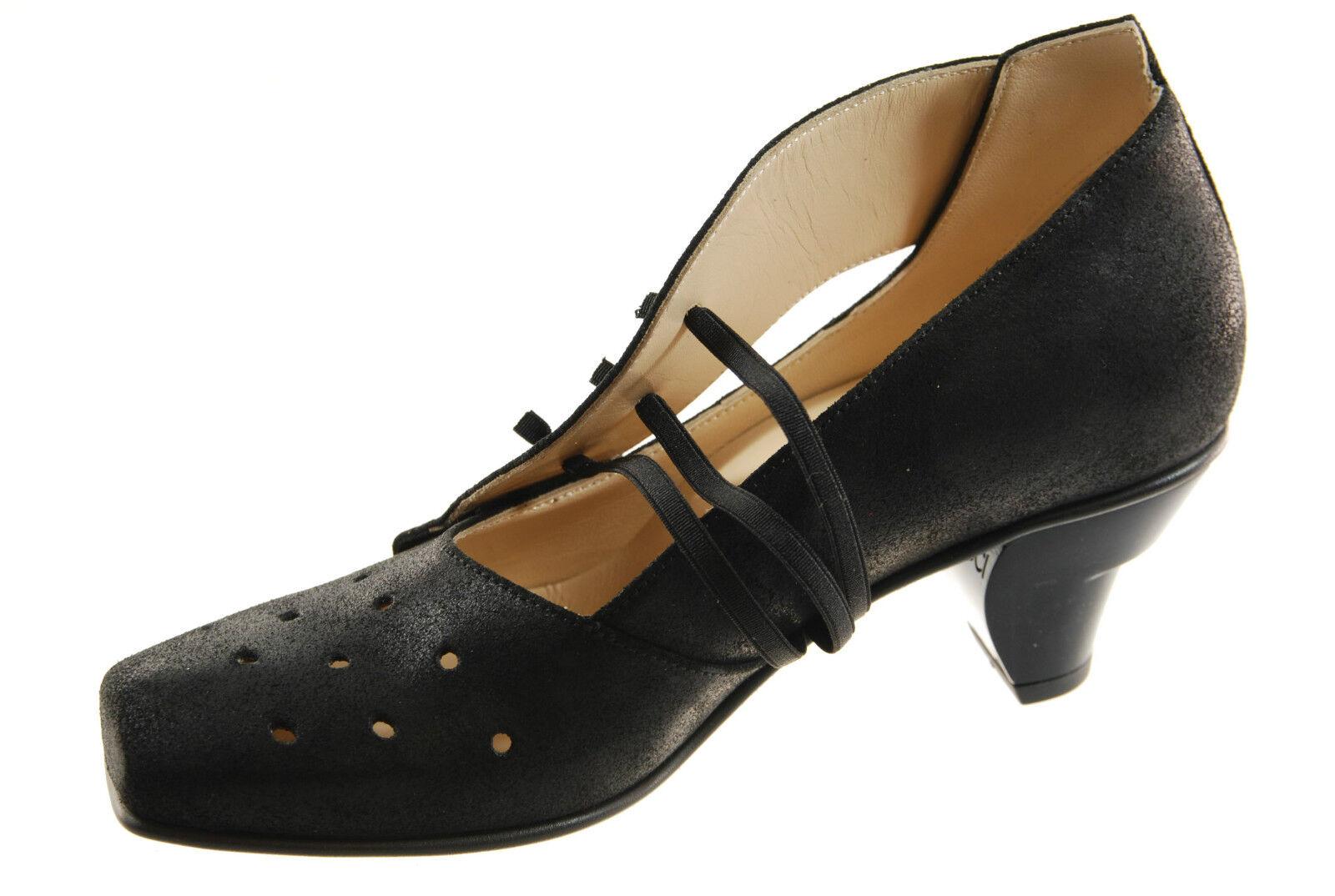LISA TUCCI Zapatos de mujer tacón tacón tacón Texel Negro Nerón verde Cuero sandalias  precio mas barato