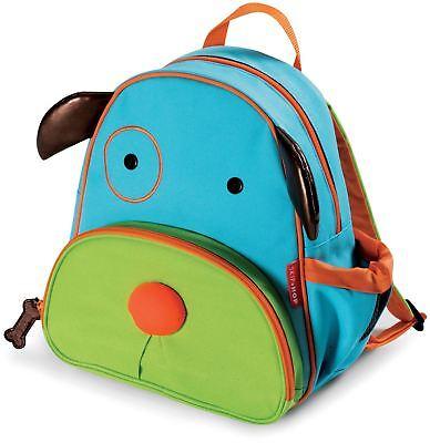 Skip Hop Zoo Bambino Back Pack-cane Bambini Vestiti Accessori Borse Bn-
