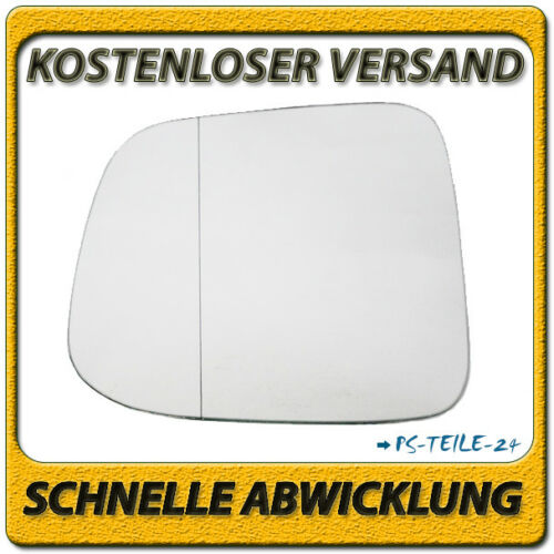 Spiegelglas für CHEVROLET ORLANDO 2010-2017 links Fahrerseite asphärisch