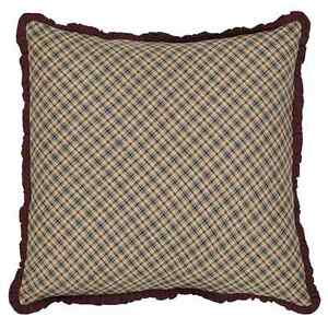 Primitive Throw Pillows For Couch : Country Primitive Finley Toss Pillow Cover Throw 16