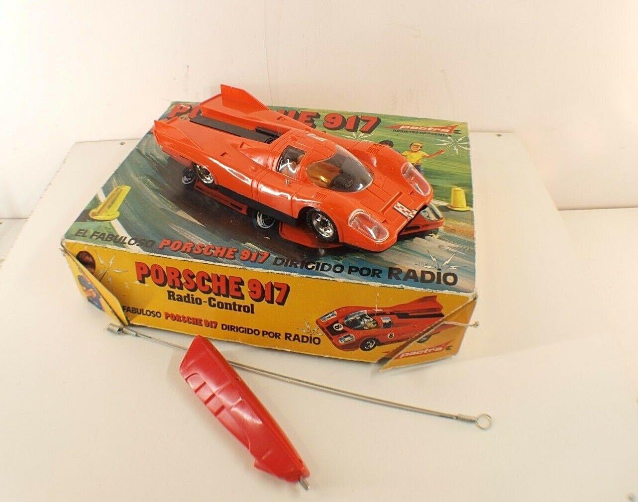 PACTRA Spain n° 745 Porsche 917 radio contol radiocommandé ancien rare en boite