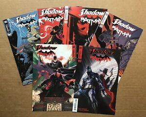 OF 6 COVER C ALEX ROSS Dynamite DC Comics NM 2017 SHADOW BATMAN #1