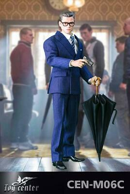 1//6 Toy center CEN-M06A Kingsman Royal Spy Weapon Equipment /& Dog Male Figure
