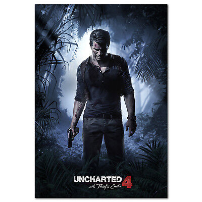 Uncharted 4 Poster Official Art High Quality Prints Ebay