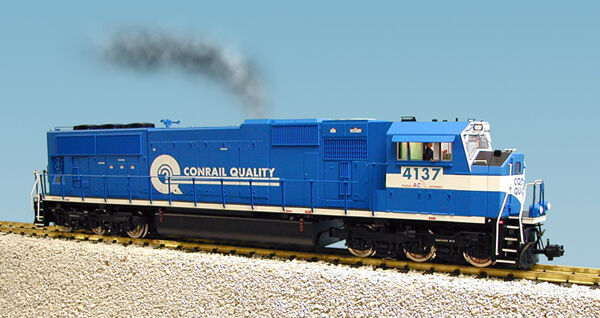 USA Trains G G G Scale SD70 MAC Diesel Locomotive R22608 Conrail bluee white 3791c9
