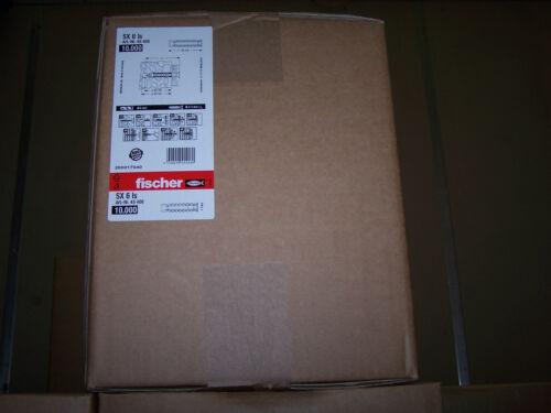 Fischer SX Dübel SX5 SX6 SX8 SX10 SX12 Nylon Dübel TOP-Angebot vergleichen Sie