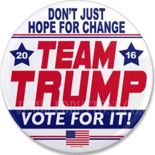 """Team Trump 2016 2.25/"""" CAMPAIGN Pinback BUTTON"""