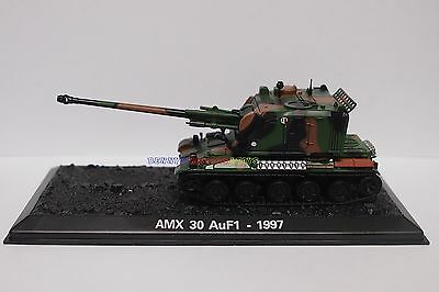 New 1/72 Diecast Tank France AMX 30 Auf1 1997 French Military Model Toy Soldiers