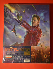 Guardians of the Galaxy Steelbook 3D Bluray Blufans double Lenticular New+Sealed