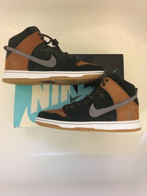 size 40 8bf9d 6c500 Nike SB Dunk High PRM HG QS HomeGrown 839693 302 RARE 🔥