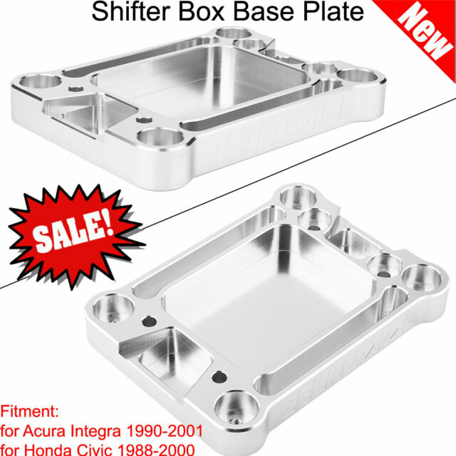 Shifter Box Base Plate Adapter For Acura Integra 1990-2001