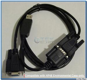 USA 48GX 48S 48SX /& CD w// LED 1x USB Cable for HP 48G 48G HP Calculator
