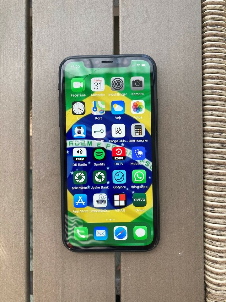 iPhone XR, 64 GB, sort