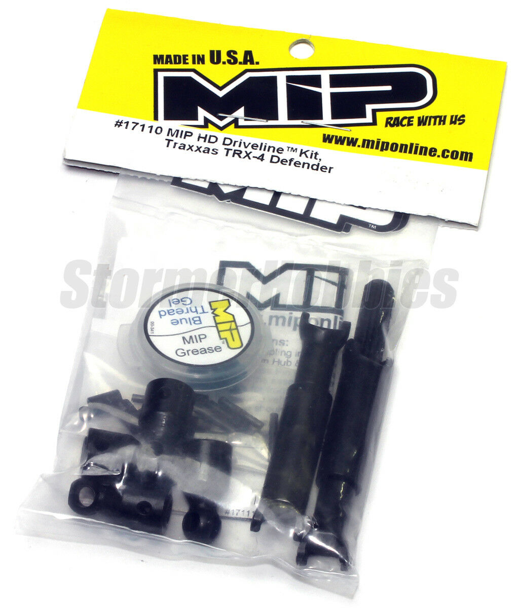 NEW MIP Traxxas TRX-4 HD Driveline Kit MIP17110 Fits Landrover Defender Bronco
