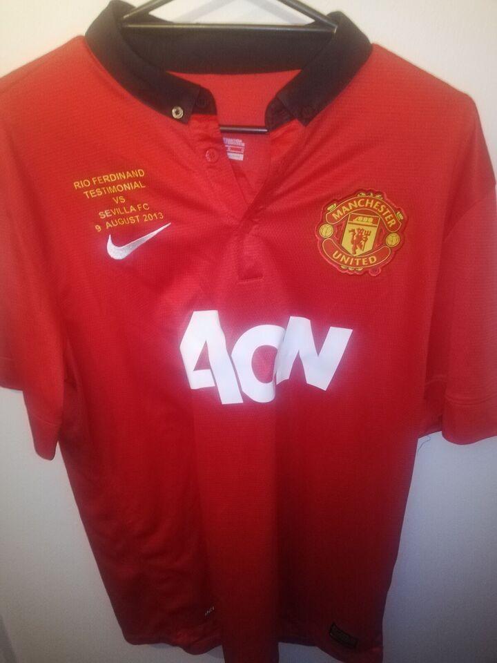 Fodboldtrøje, Rio Ferdinand manchester united trøje