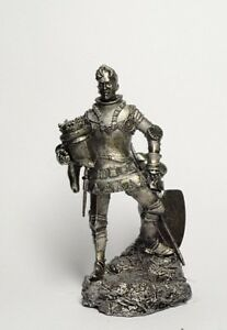 Tin-soldier-figure-Tin-soldier-figure-Medieval-Knight-54-mm-54-mm