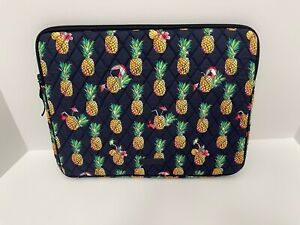 Vera-Bradley-Laptop-Sleeve-Case-in-Toucan-Party-Quilted-Cotton-NWT-MSRP-49