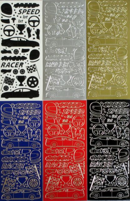 Sticko Stickers-Race Car Rama-Racing