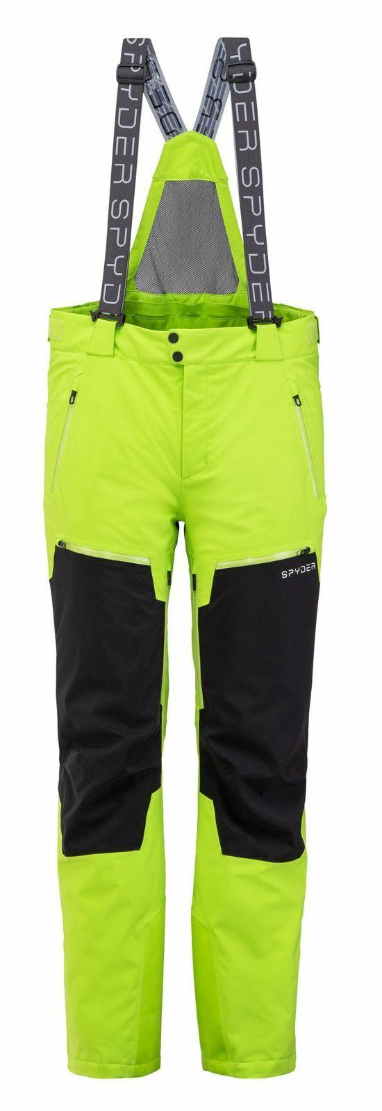 Spyder mannens goretex ski broek voortstuwing GTX primaire vulling, groen
