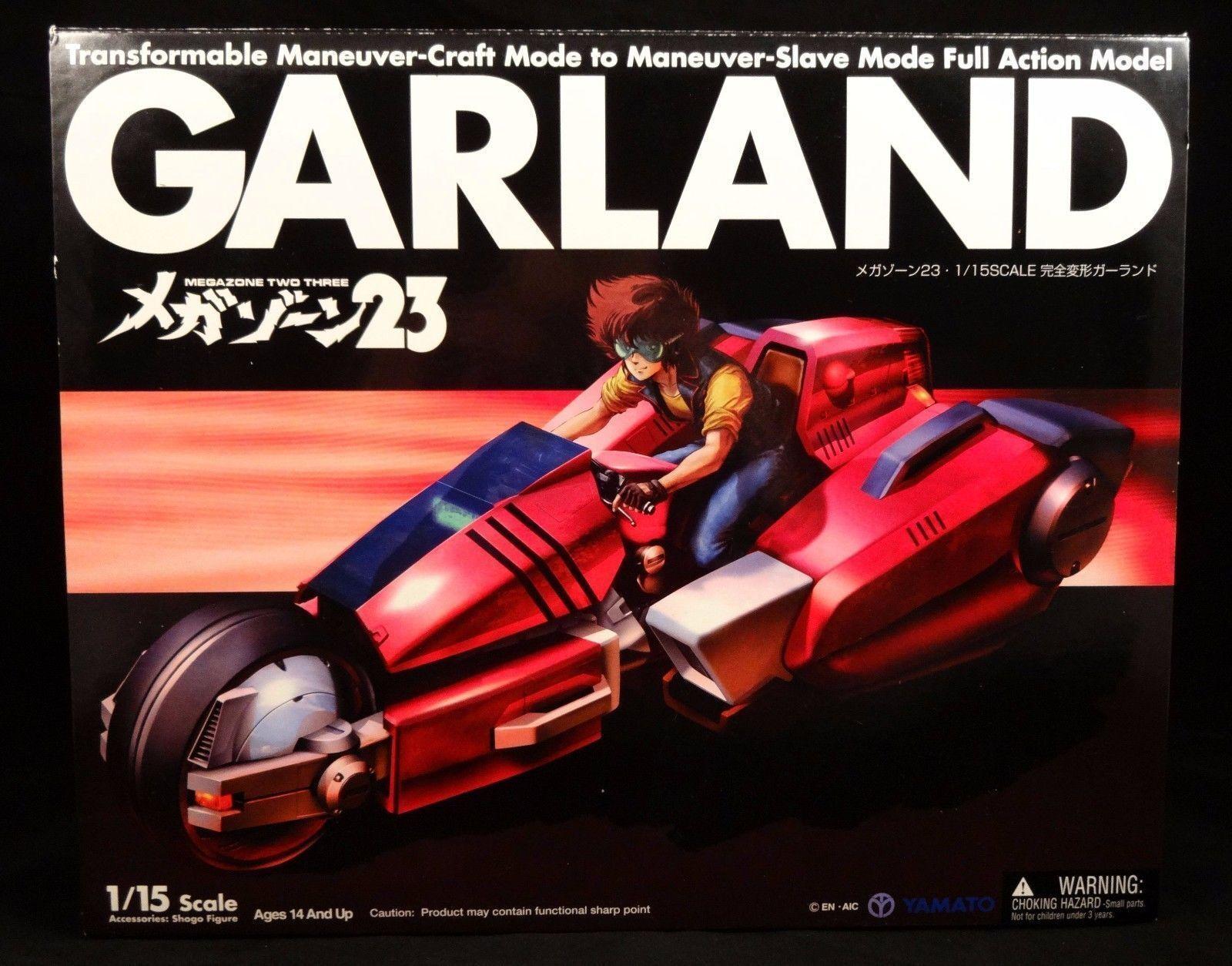 Yamato Mega Zone 23 Megazone Megazone Megazone 1 15 Complete Deformation Garland Figure New ecb274