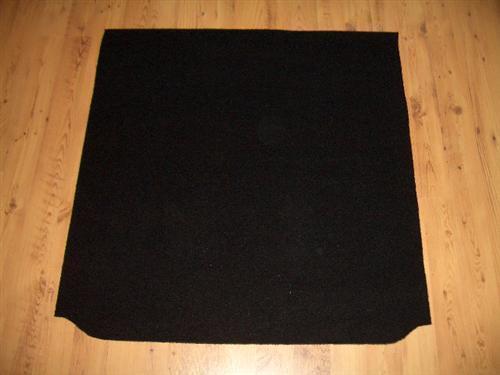 Kofferraumwanne Teppich Schutz aus Velours BMW X5 E70