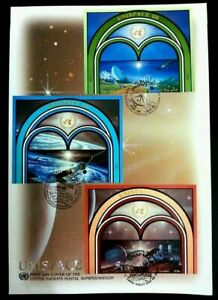 [SJ] United Nations Unispace 1999 Earth Space Universal Planet Astronomy (FDC)