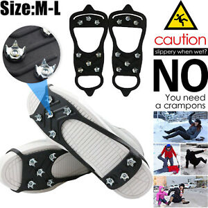 Ice-Snow-Anti-Slip-Spikes-Grips-Grippers-Crampon-Cleats-For-Shoes-Boot-Overshoe