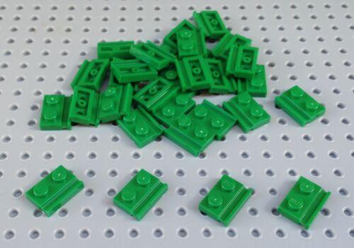 x10 *BRAND NEW* City Minecraft 32028 Lego Green 1x2 Plate with Door Rail