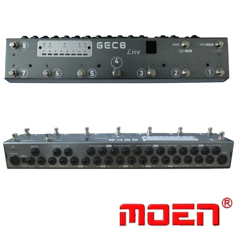 Moen GEC8 LIVE with Midi