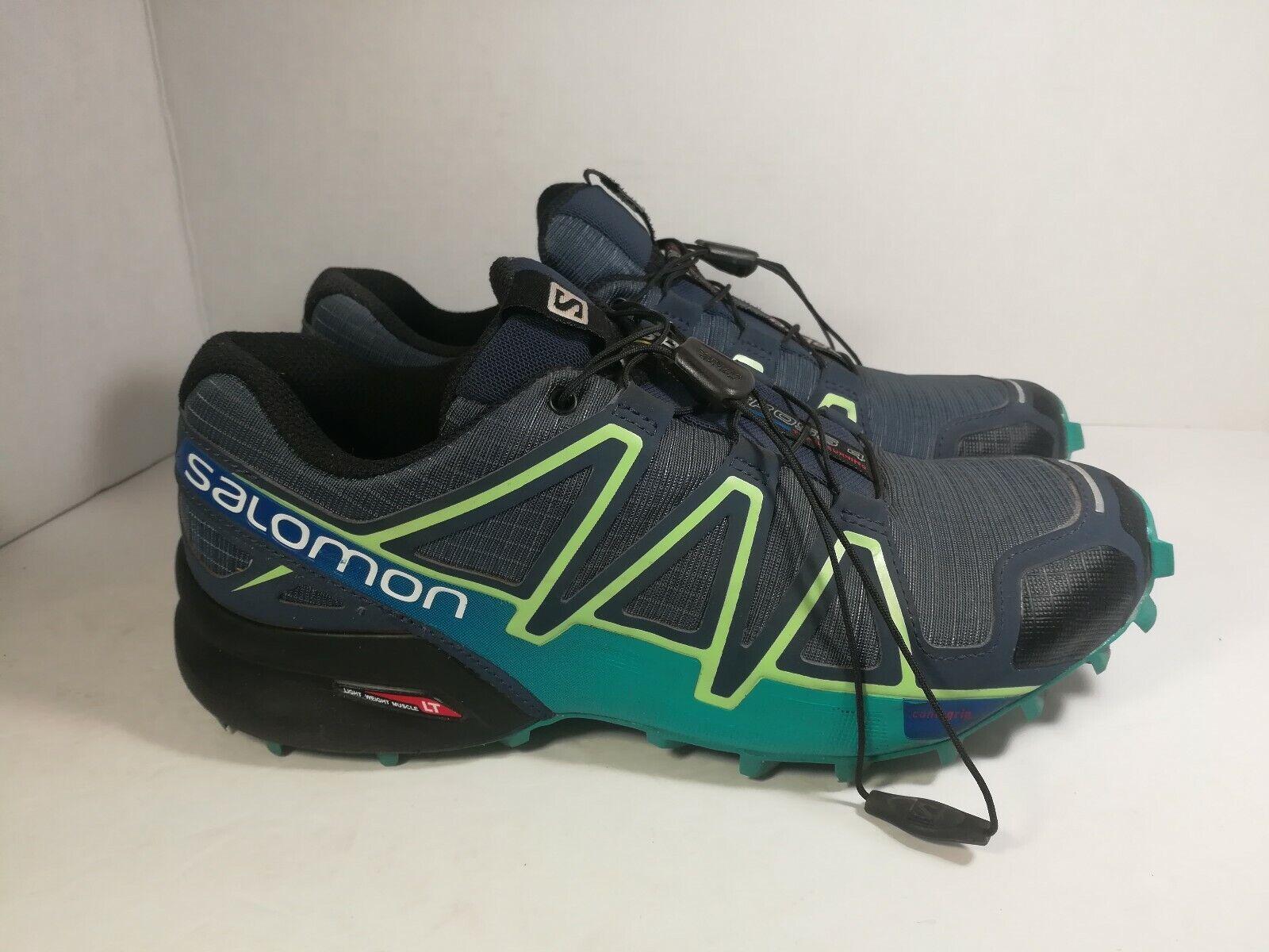 Salomon Speedcross 4 Malla Zapatillas tamaño nos 8 para hombre buenas condiciones 383104