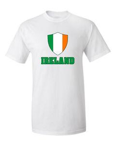 5e0d57ffb Image is loading Ireland-Irish-T-shirt-Soccer-Jersey-Patriotic-Flag-
