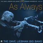 Live: As Always by David Liebman Big Band/David Liebman (CD, Aug-2010, Mama)