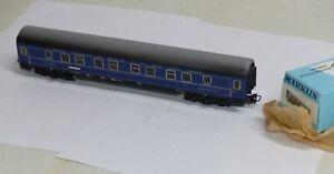 Maerklin-Personenwagen-4029-Blech-Schlafwagen-CIWL-4581-OVP-H0-sehr-guter-Zustand