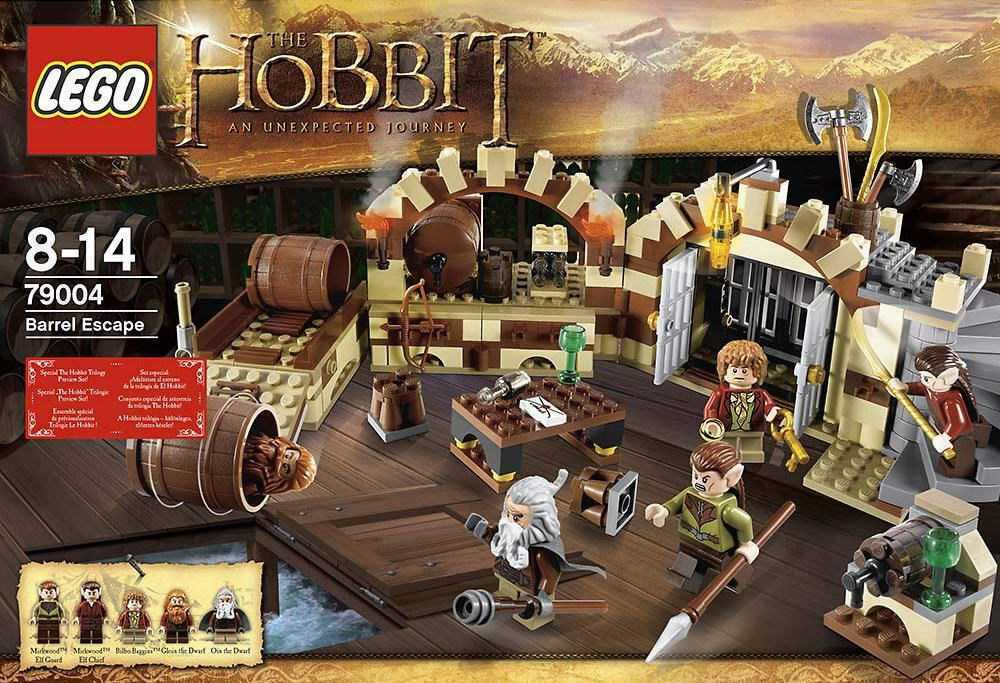 LEGO The Hobbit 79004 - Barrel Escape - NEUF NEW SCELLÉE SEALED