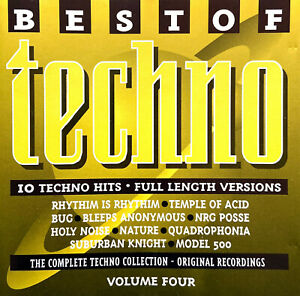 Compilation-CD-Best-Of-Techno-Volume-Four-UK-EX-VG