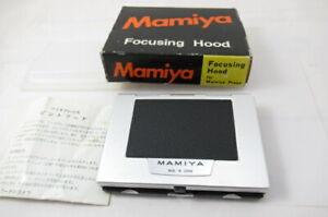 Excelente-Caixa-Com-Capuz-focagem-Mamiya-Chao-Vidro-Para-Prensa-Mamiya-Japao-2902