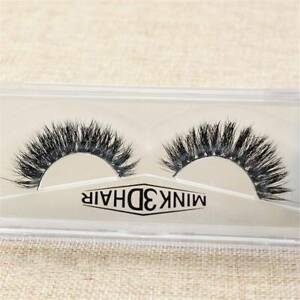 3D-Luxurious-100-HandMade-Thick-Siberian-Mink-Hair-Fur-False-Eyelashes-Natural