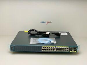 Cisco-WS-C2960-24PC-S-24-Port-PoE-Switch-1-YEAR-WARRANTY-FASTSHIPPING