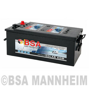 agm batterie 150ah 12v solarbatterie versorgungsbatterie statt 130ah 140ah gel ebay. Black Bedroom Furniture Sets. Home Design Ideas
