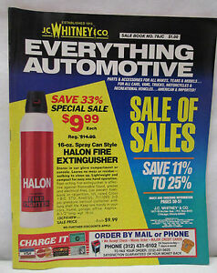 Vintage J C Whitney Amp Co Automotive Accessories Amp Parts Catalog No 78jc 1992 Ebay