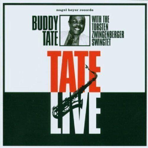Buddy Tate | CD | Tate live (& Torsten Zwingenberger Swingtet)