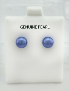 GENUINE-PEARL-7-mm-STUD-EARRINGS-SS-Made-in-USA
