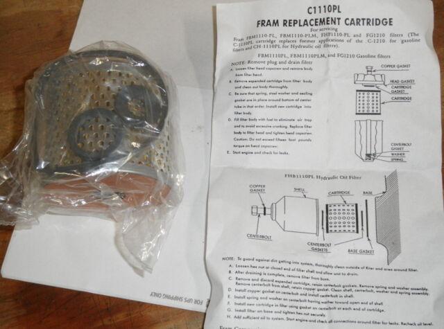 fram c1110pl fuel filter cartridge johnson evinrude 173326 Gas Fuel Filter