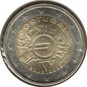 PO20012.1 - PORTUGAL - 2 euros commémo. 10 ans de l'euro - 2012