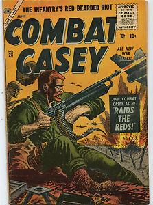 Combat-Casey-28-VG-Fine-June-1956-Casey-Raids-The-Reds-All-New-Tales-CBX34