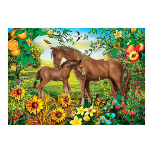 Animal Family Diamond Painting Full Drill 5D DIY Embroidery Arts Picture Decor