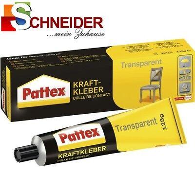 Baustoffe & Holz Willensstark Pattex Kraftkleber Transparent 125 G Kraft-kleber Alleskleber Pxt2c Freigabepreis