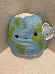 "RARE Roman the Earth 8"" Squishmallows Space Squad Summer 2021 NWT"