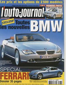 L-039-AUTO-JOURNAL-n-626-07-08-2003FERRARI-360-MODENA-BENTLEY-CONTINENTAL-VW-TOUAREG